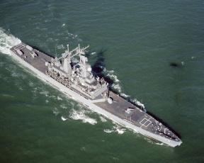 Картинка атомный ракетный крейсер типа cgn 38 «вирджиния» корабли крейсеры линкоры эсминцы вирджиния