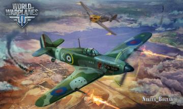 Картинка видео+игры world+of+warplanes арт симулятор онлайн warplanes игра of world истребители