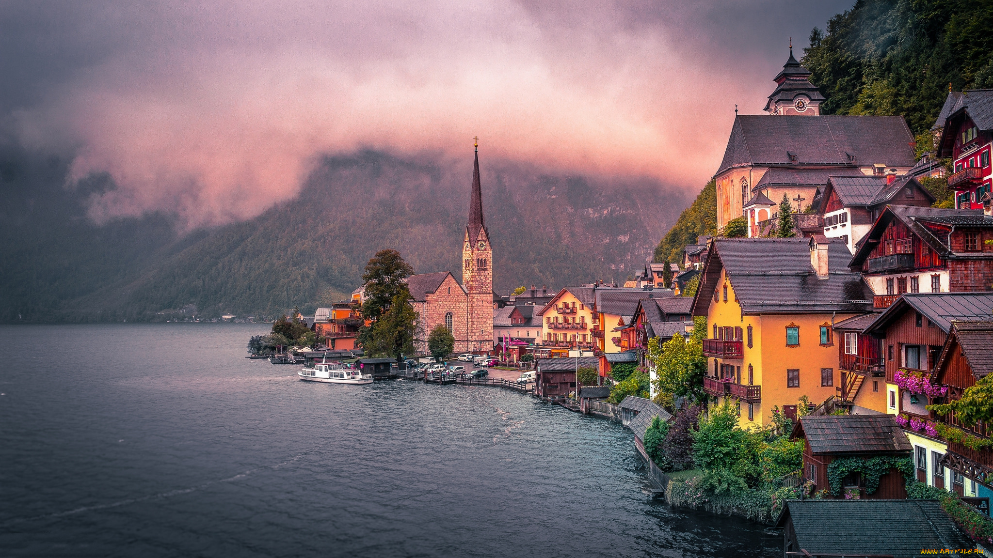 Hallstatt, Austria без смс