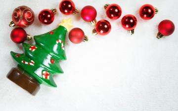 Картинка праздничные украшения merry christmas xmas decoration новый год рождество елка шары
