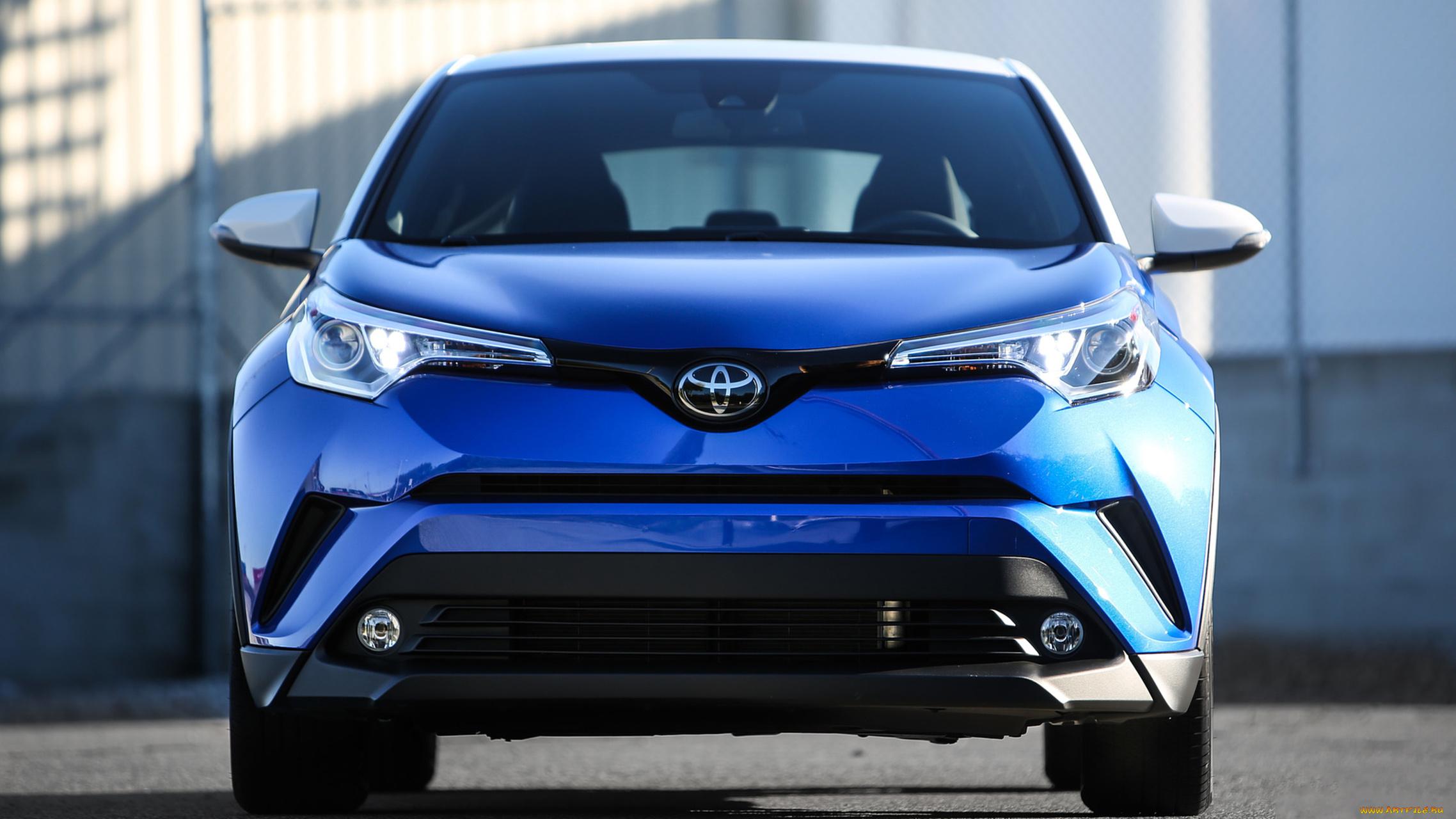 Toyota C-HR здание без смс