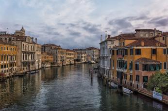 обоя grand canale, города, венеция , италия, канал