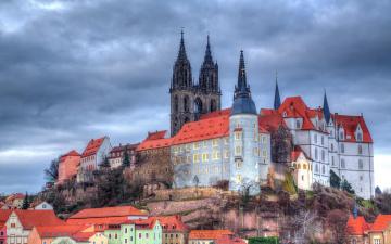 обоя albrechtsburg castle германия, города, замки германии, albrechtsburg, castle, германия