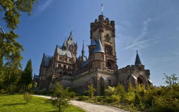 обоя drachenburg castle, города, замки германии, drachenburg, castle