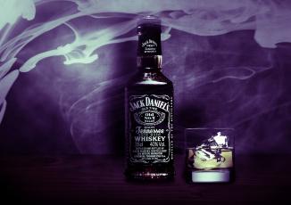 Картинка jack+daniel`s бренды виски бутылка стакан
