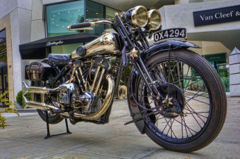 обоя 1928 brough superior ss 100, мотоциклы, -unsort, байк