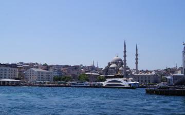 Картинка города стамбул+ турция мечети