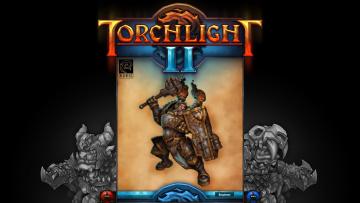 Картинка torchlight видео игры ii инженер доспехи молот надпись