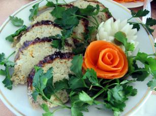обоя еда, рыбные блюда,  с морепродуктами, щука, фаршированная, петрушка