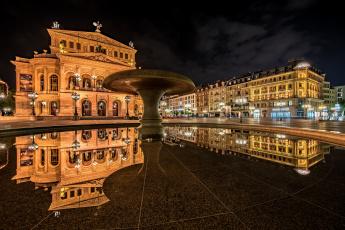 обоя eltz castle - germany, города, - огни ночного города, площадь, ночь