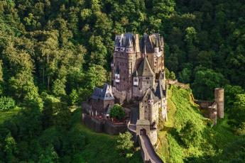 обоя eltz castle - germany, города, замки германии, горы, замок