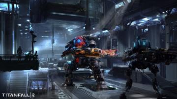обоя видео игры, titanfall 2, action, titanfall, 2, шутер