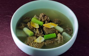 обоя еда, первые блюда, суп, мясной