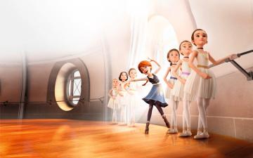 обоя мультфильмы, ballerina