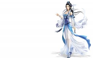 Картинка фэнтези девушки фентези игра арт меч воин девушка