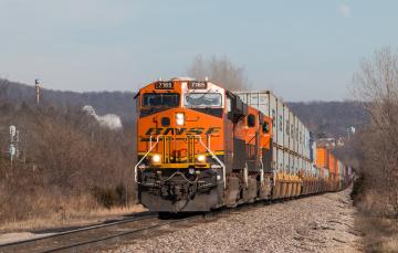 Картинка техника поезда состав локомотив рельсы