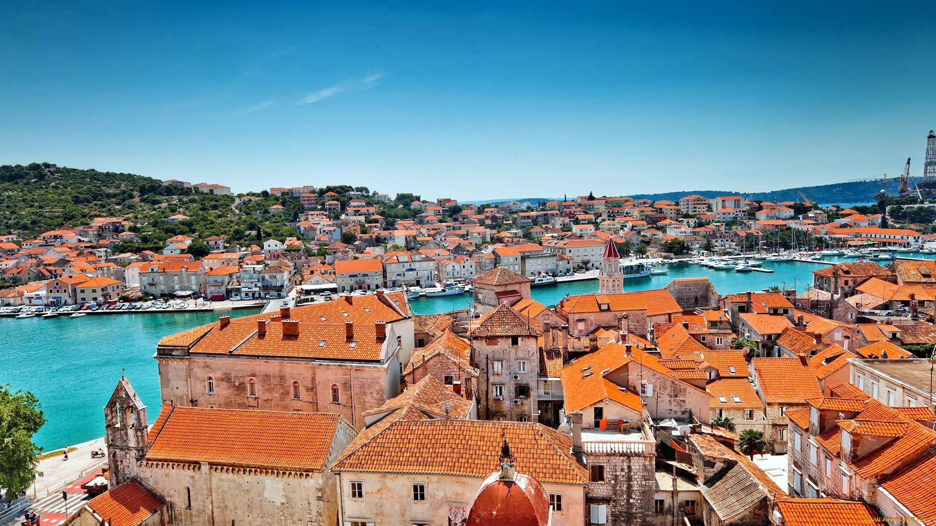 время далось хорватия город фотомодель фотофасады изображение