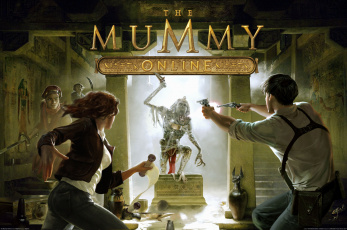 Картинка the mummy online artwork видео игры