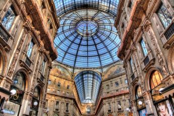 обоя galleria, vittorio, emanuele, ii, интерьер, казино, торгово, развлекательные, центры, милан