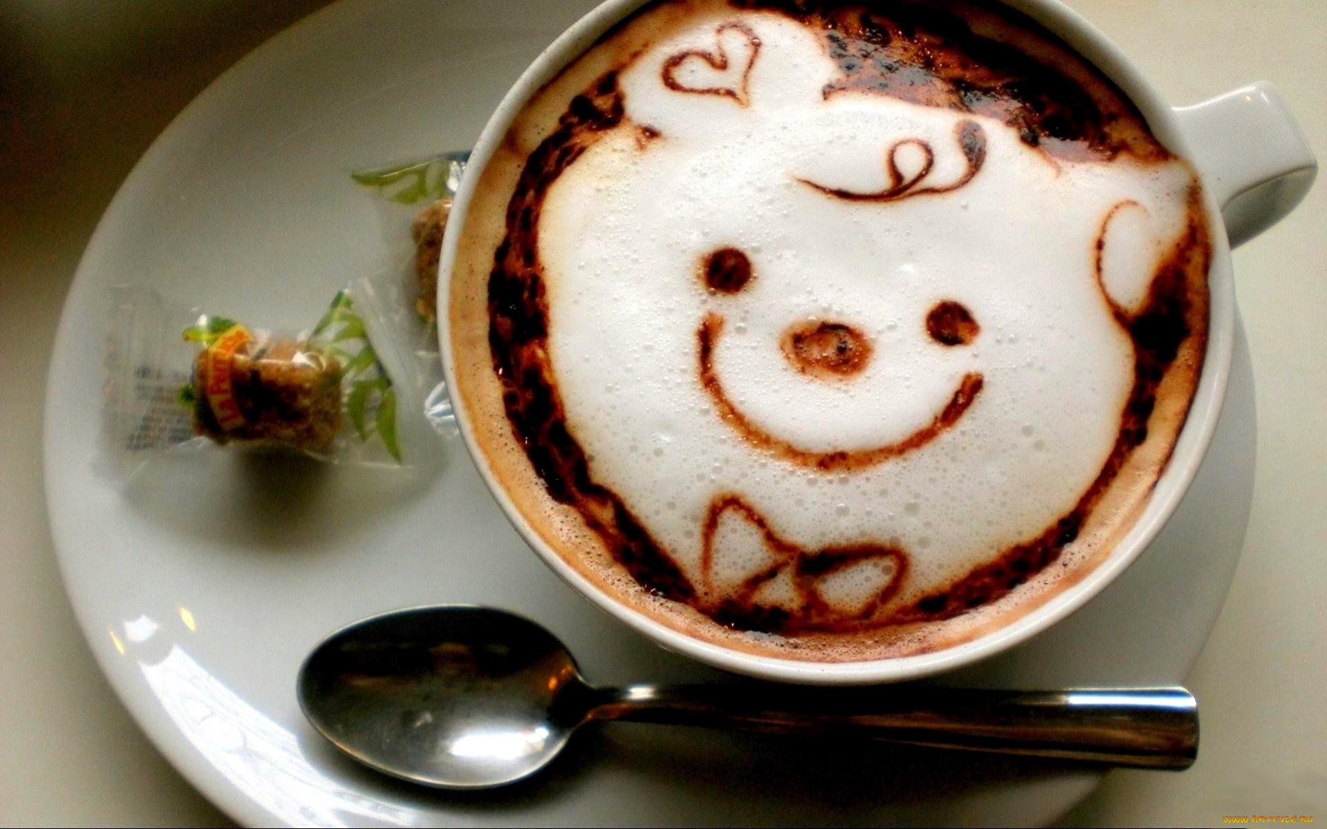 Теплые, смешные картинки чашек кофе