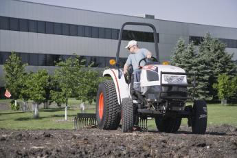 обоя техника, тракторы, bobcat