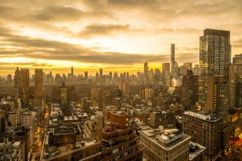 обоя города, - панорамы, обзор