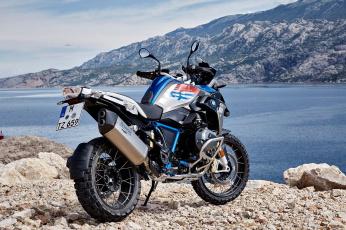 обоя мотоциклы, bmw, r1200gs, rallye, на, фоне, гор