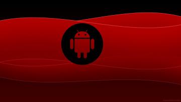 Картинка компьютеры android фон логотип