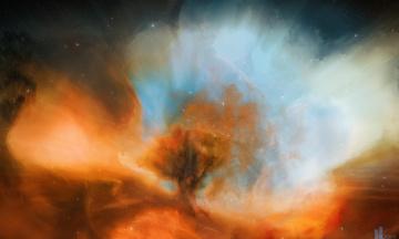 Картинка космос галактики туманности туманность зёзды joejesus
