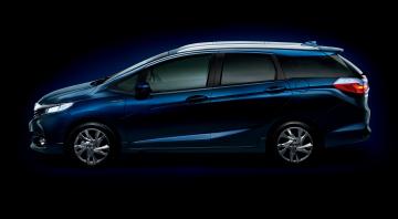 Картинка автомобили honda shuttle hydrid 2015г синий