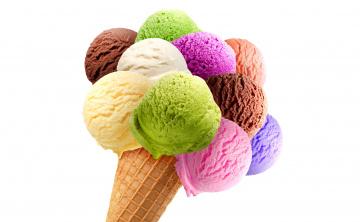 Картинка еда мороженое +десерты десерт ассорти вафли рожок