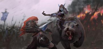 обоя видео игры, heroes of the storm, ролевая, action, heroes, of, the, storm, онлайн