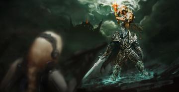 обоя видео игры, heroes of the storm, онлайн, ролевая, action, heroes, of, the, storm