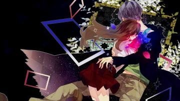Картинка аниме ib двое иб