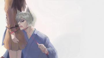 Картинка аниме kamisama+hajimemashita двое