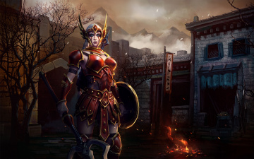 обоя видео игры, heroes of the storm, ролевая, heroes, of, the, storm, онлайн, action