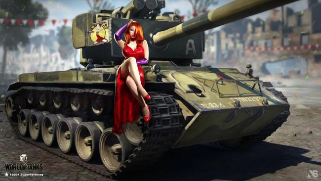 photo of girls танки № 31795