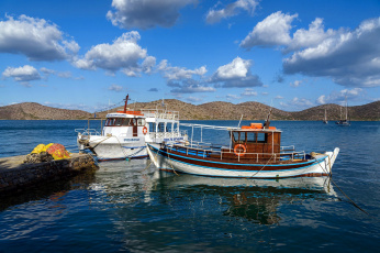 обоя корабли, баркасы ,  буксиры, лодки, рыбацкие, море
