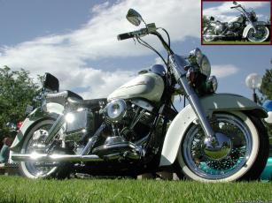 обоя мотоциклы, harley, davidson