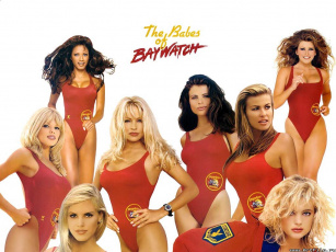 обоя the, babes, of, baywatch, кино, фильмы