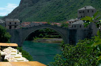 обоя mostar, bosnia, and, herzegovina, города, мостар, босния, герцеговина, река, старый, мост, и