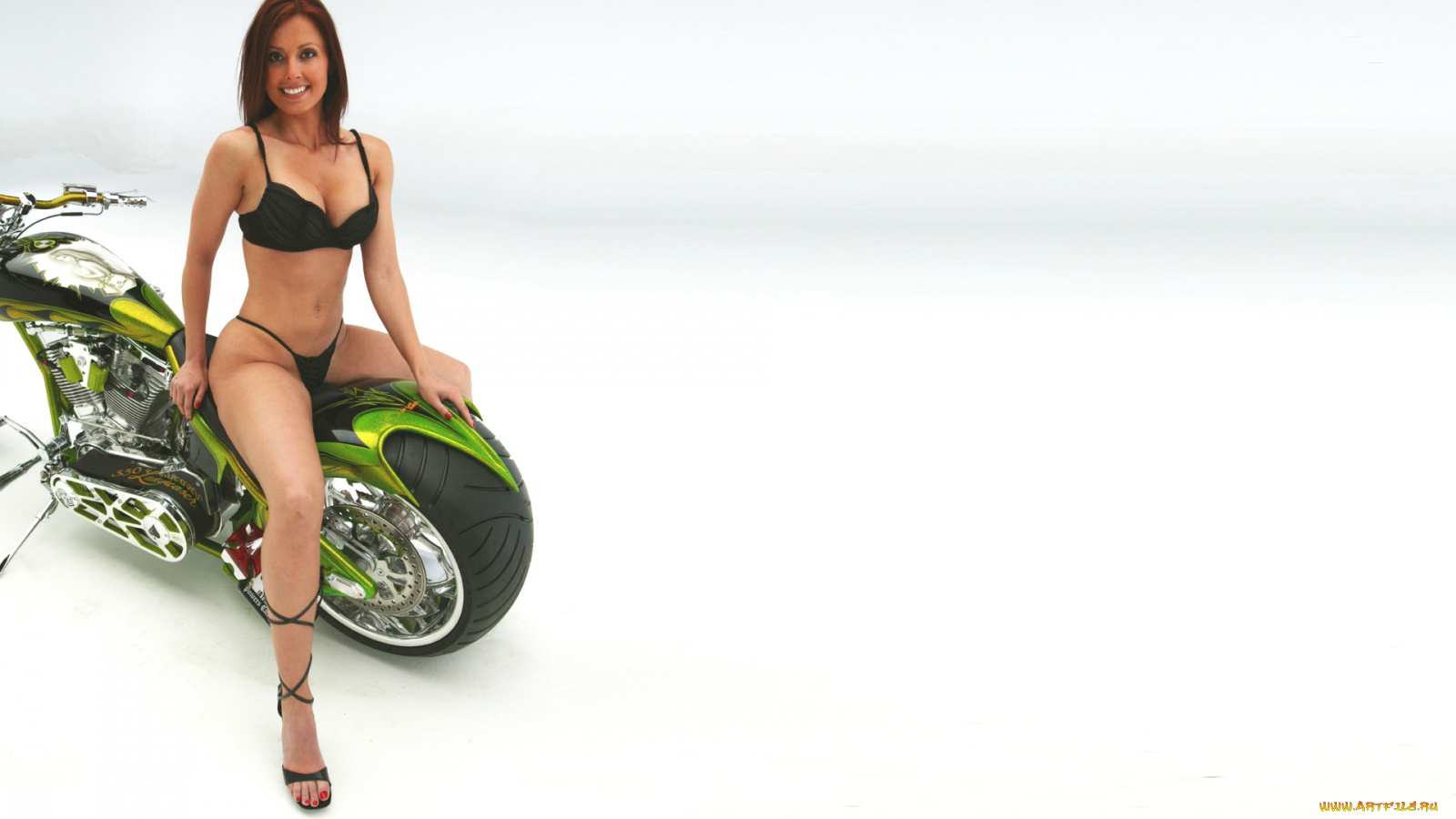 девушка мотоцикл без смс