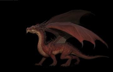 обоя фэнтези, драконы, фентези, дракон, арт