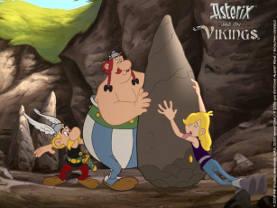 Картинка мультфильмы asterix and the vikings