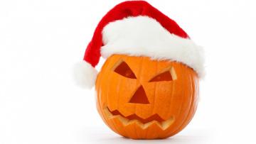 обоя праздничные, хэллоуин, фон, шапка, тыква