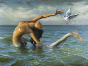 Картинка фэнтези русалки