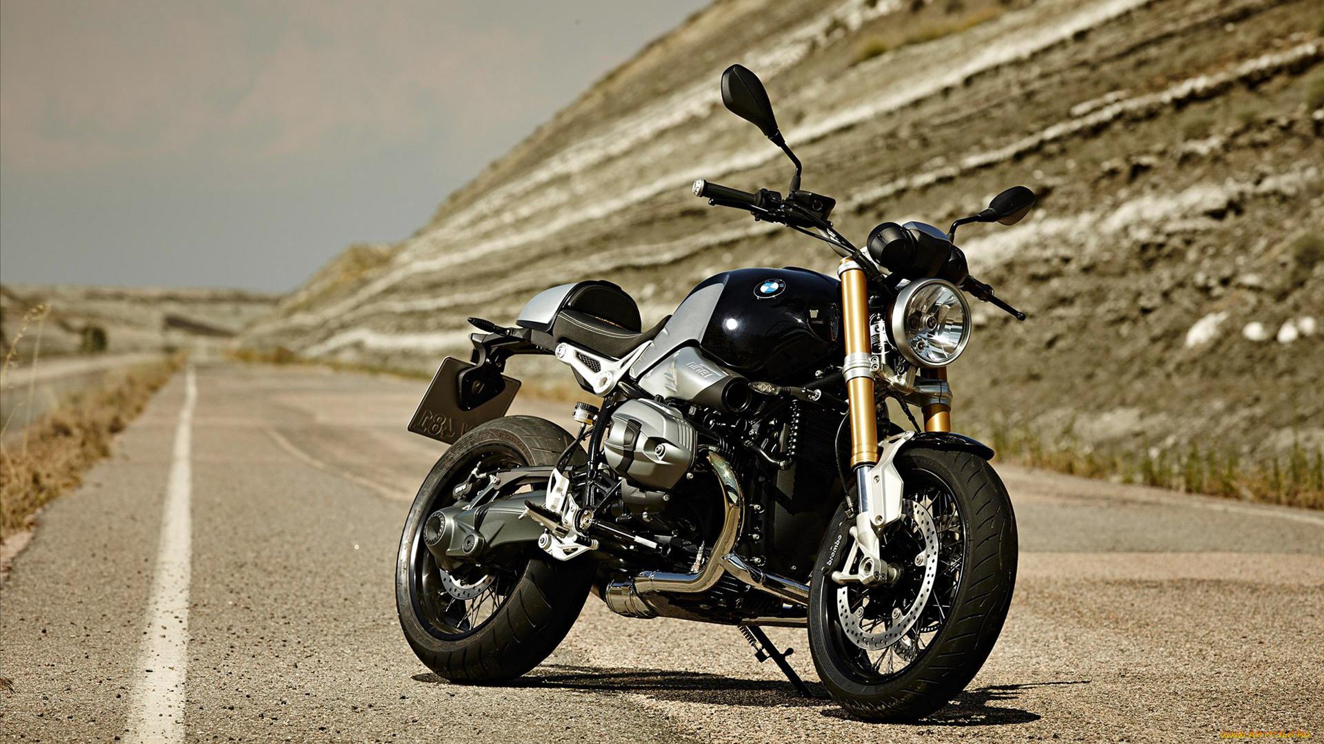 черный мотоцикл BMW загрузить