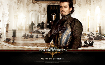 Картинка the three musketeers кино фильмы duke of buckingham orlando bloom