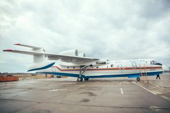 обоя бе- 200Чс, авиация, самолёты амфибии, самолёт, бе-, 200Чс
