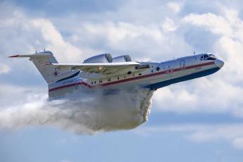 обоя be-200, авиация, самолёты амфибии, гидросамолет